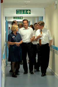 David Cameron visits Witney EMU. Picture by Ric Mellis.
