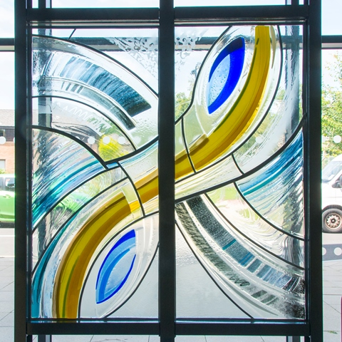 entrance glass 2c2