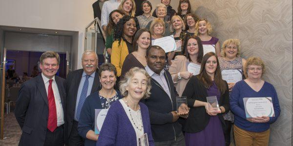 Group photo of all award winners
