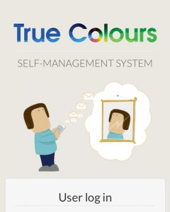 True Colours self-management system