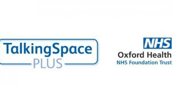 Talking Space and Oxford Health logos