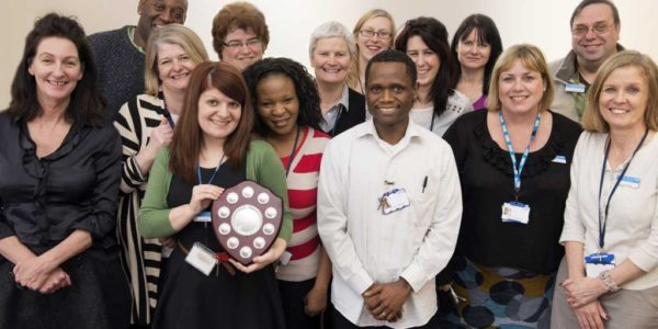 Photo of one of our care teams