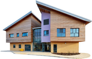 Photo of Highfield Unit building.