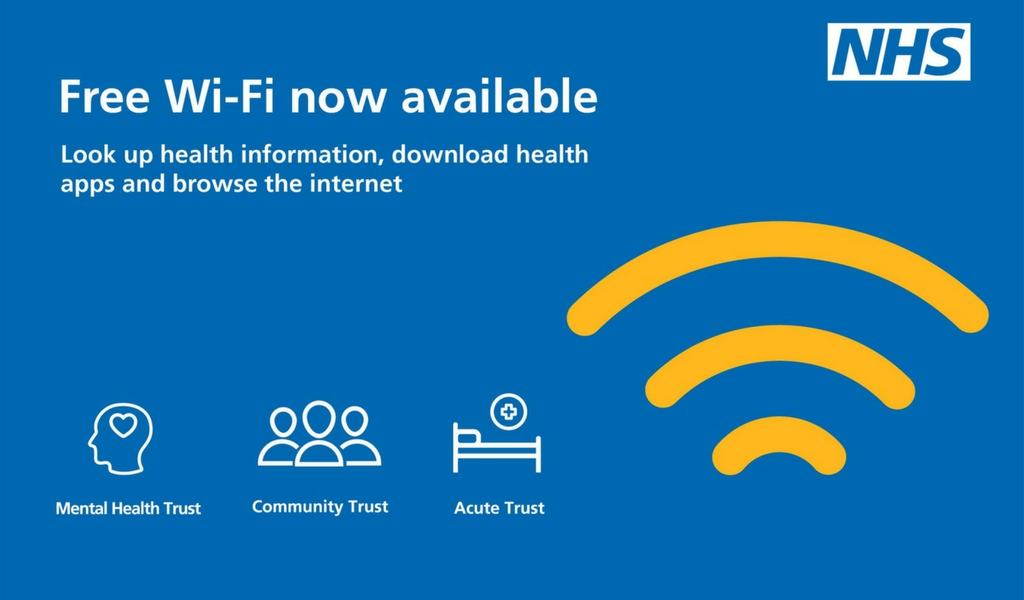 Free NHS wifi at Oxford Health sites