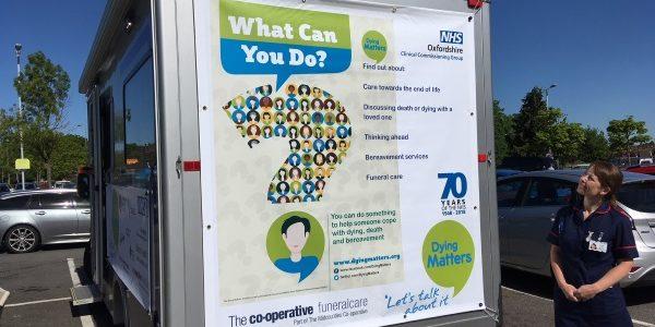 Bus tour to help public talk about death
