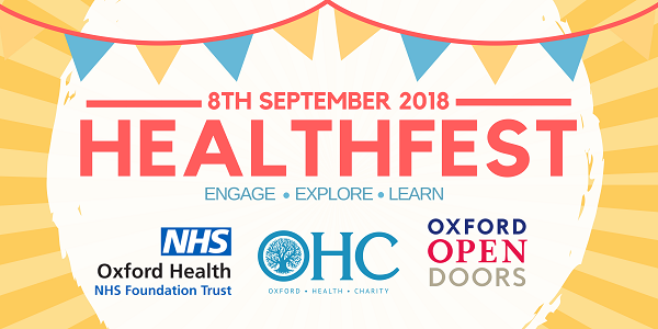 First ever Healthfest at Warneford Hospital on 8th September