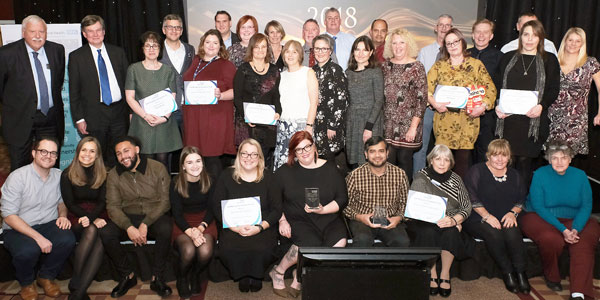 Staff Recognition Awards 2018