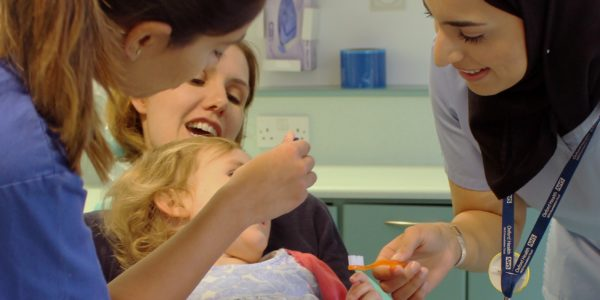 Community dental team bringing back smiles to people with a special need