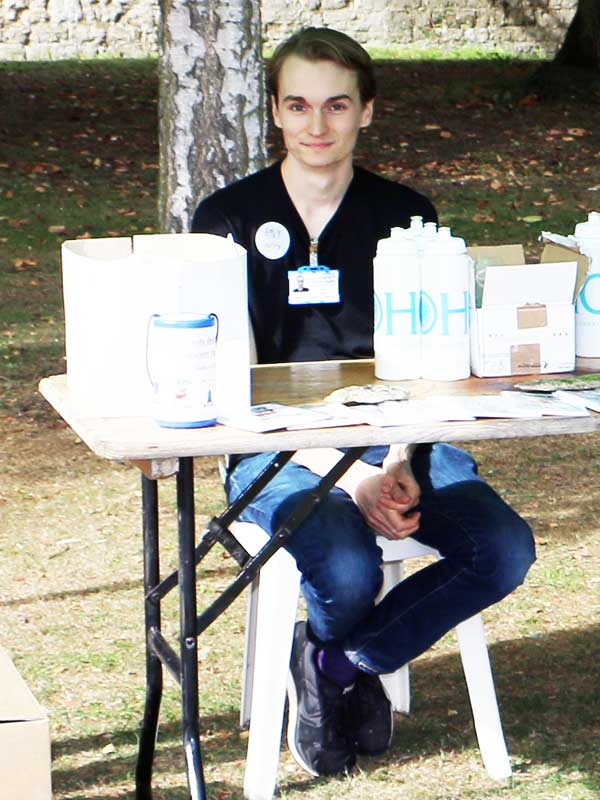 Volunteer Mark Watts