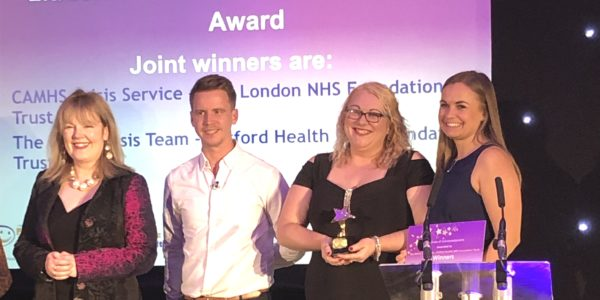Simply the best: OSCA joint winners in National CYPMH Award 2019