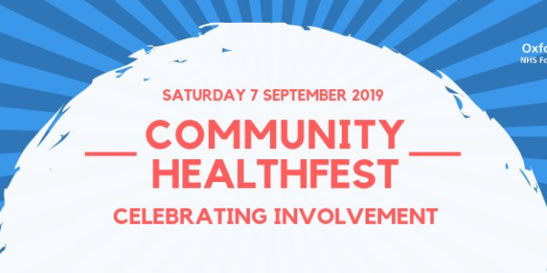 Celebrate your community at Witney HealthFest on Saturday, Sept 7