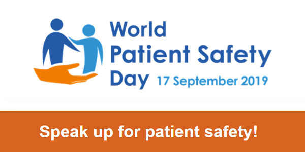 Make a pledge and wear orange to mark World Patient Safety Day