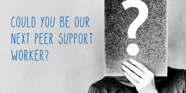 Join our Peer Support Worker training programme – apply today