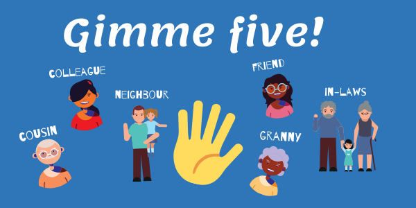Gimme five! Join now to have your say in May