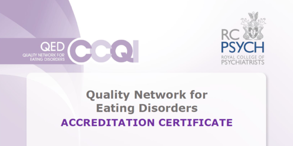 Eating Disorders QED quality assured by RCPsych
