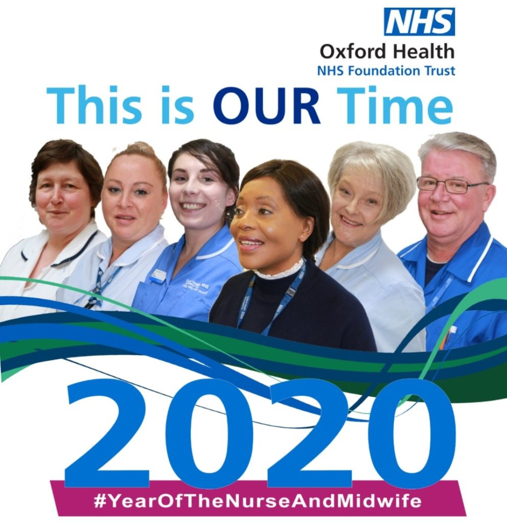 Oxford Health Branding for Year of the Nurse 2020