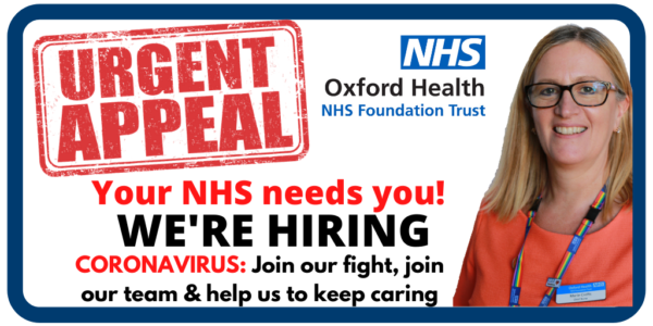 NHS jobs appeal: Thank you for answering my call says chief nurse