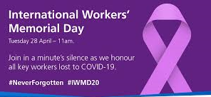 Join silence for International Workers' Memorial Day