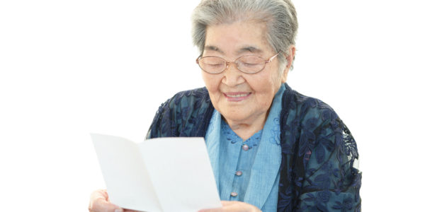 Show them you care: Keep in touch with a letter to a loved one