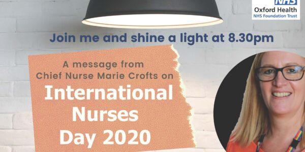 International Nurses Day: Shine a light and celebrate