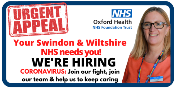 SWINDON & WILTS APPEAL: Join our fight, join our team and help us to keep caring