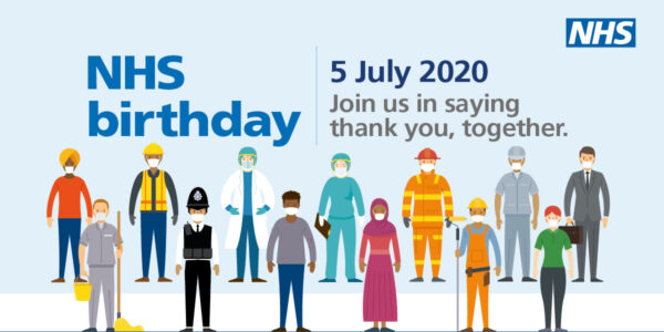 Poster for NHS Birthday