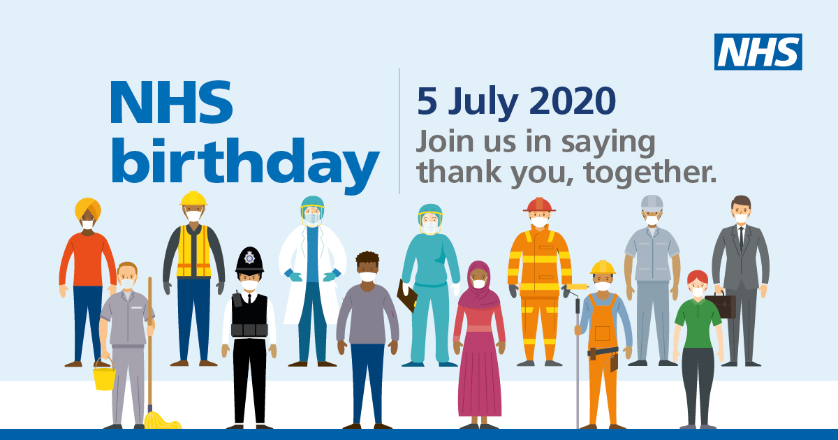 Join us on our 72nd birthday for the biggest NHS Thank You clap ...