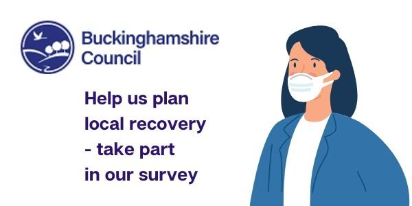 Poster about Buckinghamshire Council local recovery plan