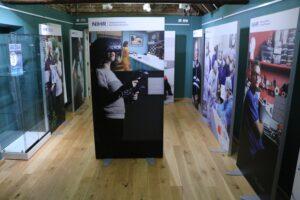 Photo of exhibition at Newbury