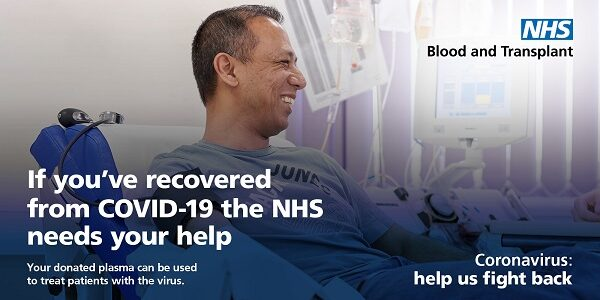 COVID-19 plasma donors wanted urgently