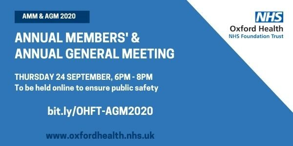 Notice of trust annual members and general meeting.
