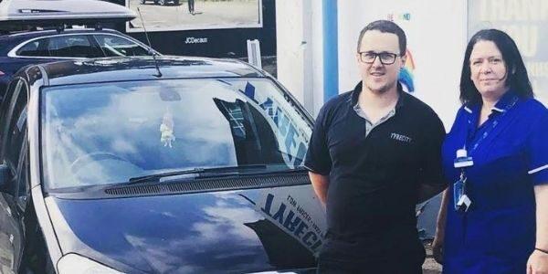 Motoring win for Henley nurse who battled COVID