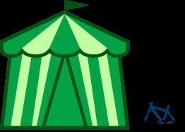 Healthfest Green Alert Tent