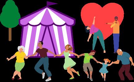 Healthfest Keeping Active Tent