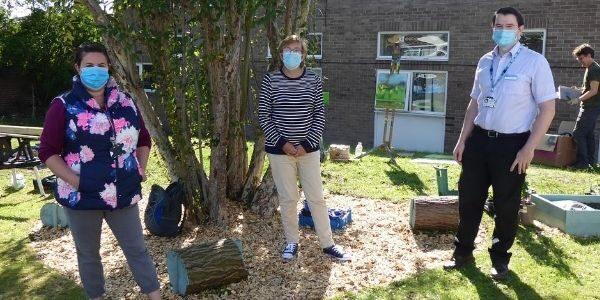 Planting day at Abingdon Hospital