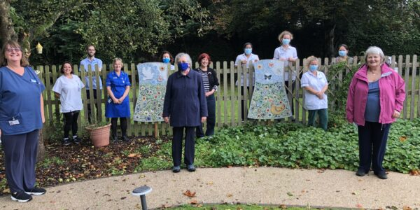Didcot mosaic a towering achievement for community hospital