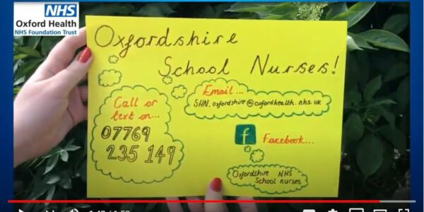School nurses are there for Oxfordshire's young people