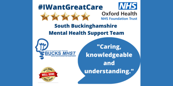Five Star Friday: all about the South Bucks Mental Health Support Team