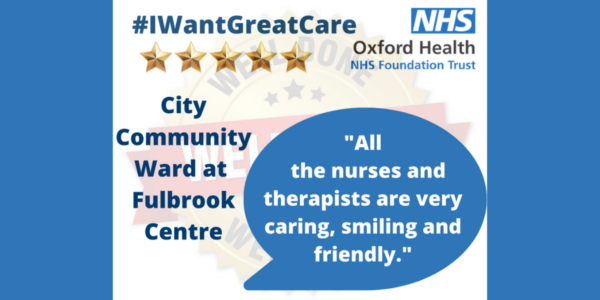 Well Done Wednesday: it's all about City Community Hospital Ward