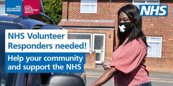 More NHS Volunteer Responders needed