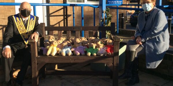 Charity Teddies help Oxford Health wards spread some loving care to children
