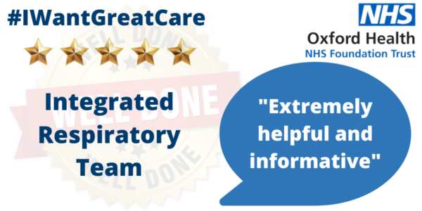 Five stars for our Integrated Respiratory Team