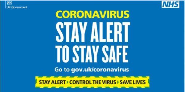 COVID 19 stay alert
