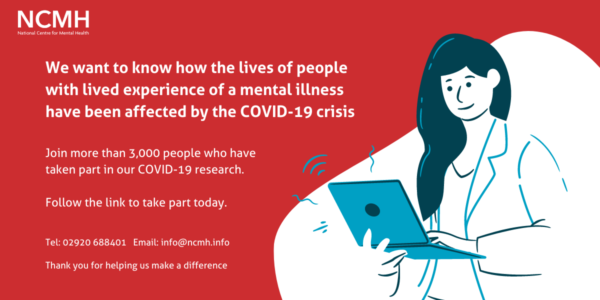Take part in an online survey about COVID-19 and mental health