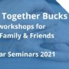 Advert for online workshops fo carers, family and friends in Buckinghamshire