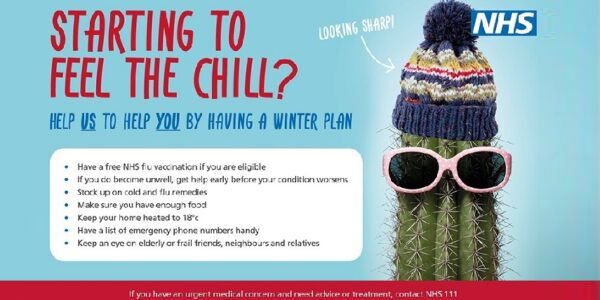 NHS in Oxfordshire encourage residents to have a winter plan