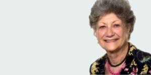 Portrait of dame Fiona Caldicott