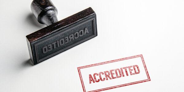 Memory service in Bucks accredited