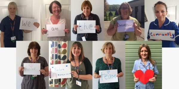 Lots of love for our fantastic heart failure community team