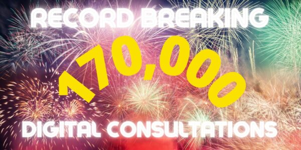 Rapid roll-out of digital consultations running for award